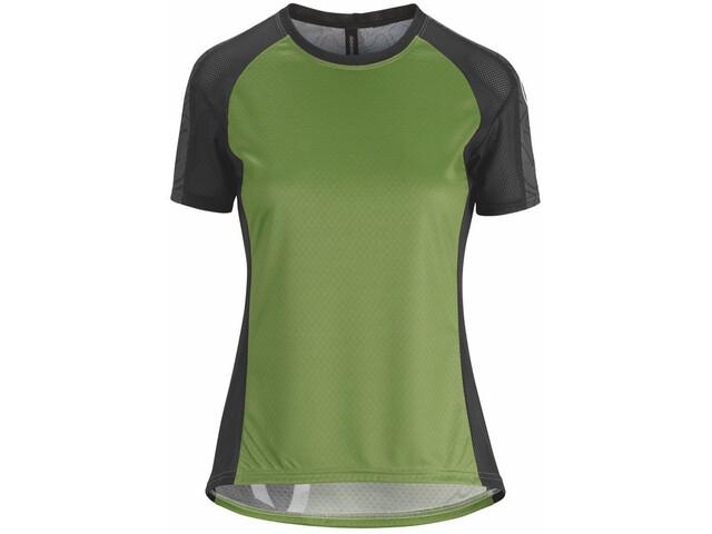 assos Trail SS Jersey Women pan green